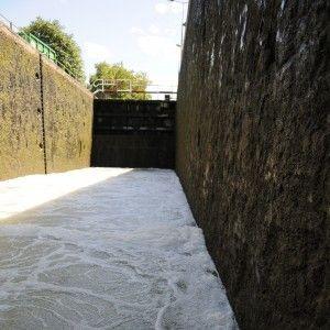 L'atelier des canaux et l'écluse du Pont de Flandre