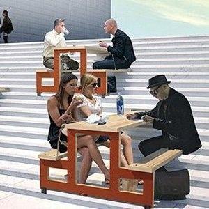 Le mobilier urbain de demain by J.C. Choblet créateur de Paris -Plage