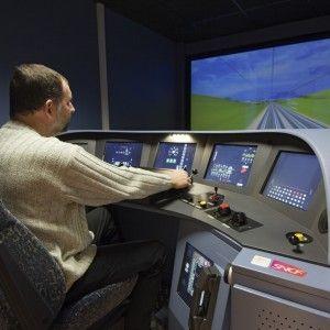 SNCF - Simulateur de conduite à la Gare du Nord