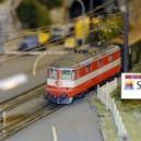 Voies ferrées miniatures sous la Gare de l'Est