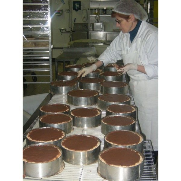 Visite de la Romainville, fabrication de gâteaux