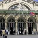 La Gare de l'Est, le couvent des Récollets et l'église Saint-Laurent