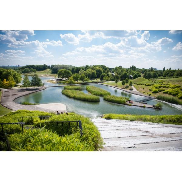 Le parc georges valbon et la cit jardin de stains for Piscine de stains