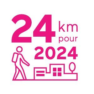 Marchez 24 km pour 2024 !