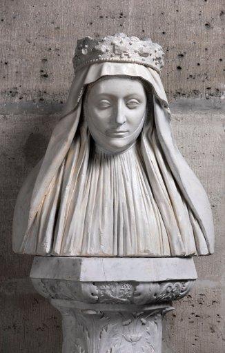Buste de Marie d'Anjou
