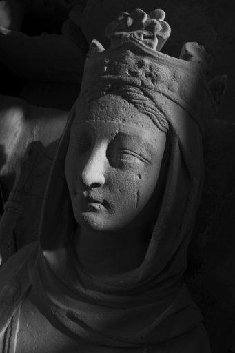 Lying recumbent of Ermentrude of Orleans © Jean-Christophe Ballot / Centre des monuments nationaux