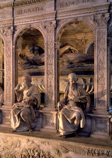 Mausoleum of Louis et Anne de Bretagne, derail