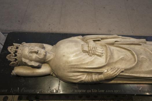 Gisant de Léon VI de Lusignan, roi d'Arménie. © Patrick Cadet - Centre des monuments nationaux.