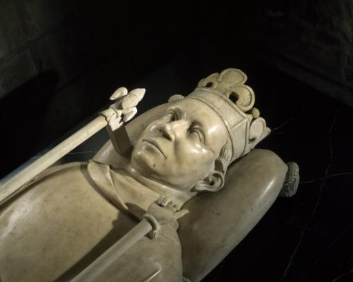 Recumbent statue of Charles VI