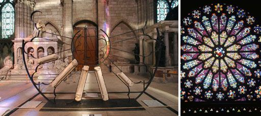 Facing each other, a suggested reconstruction of the 13th century north rose window