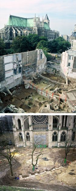 Historique des fouilles de la basilique de saint denis de 1859 2002 - Piscine pierre de coubertin saint denis ...