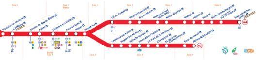 Prendre les transports à Neuilly-sur-Marne, RER, bus