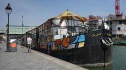 Fantaisie barge Paris