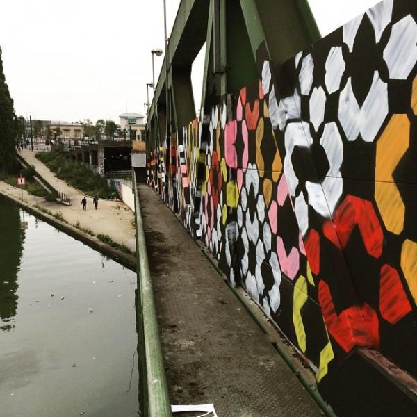 Aucwin, 6b canal St-denis, fresque Cheb Santier