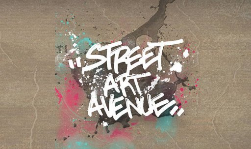 Affiche Street Art Avenue
