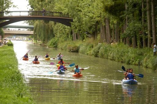 Club de cano sur le canal de l 39 ourcq sevran ile de france for Piscine sevran