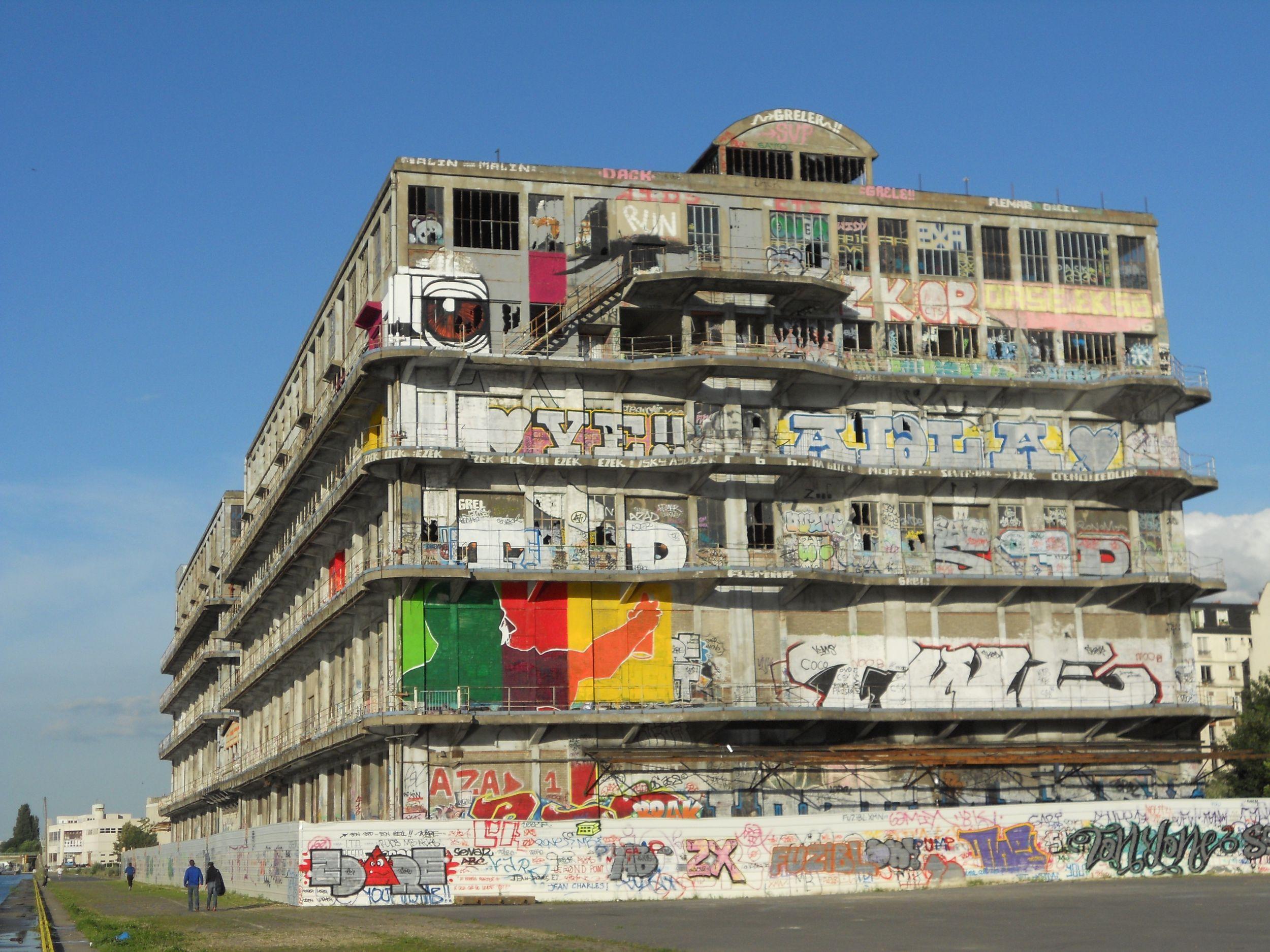 Edifice, projet street art été du canal 2012