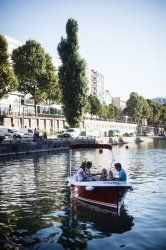 location peniche canal saint martin