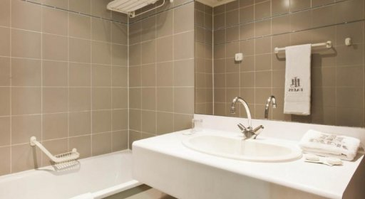 Hôtel du Lion, salle de bains