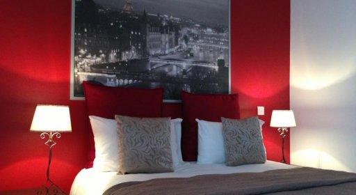 Hôtel Clairefontaine Montparnasse chambre