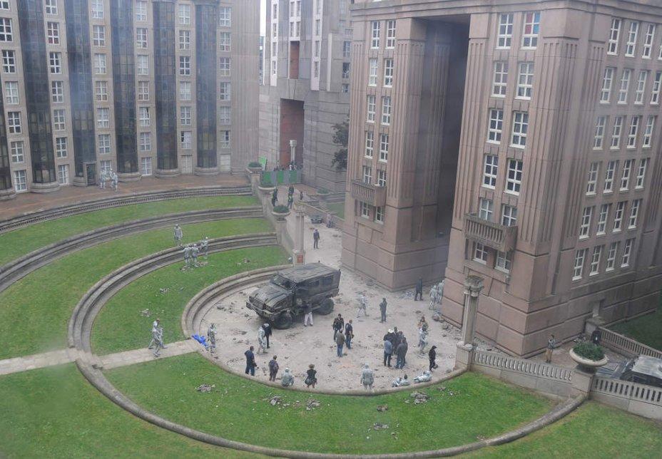 La saga hunger games tourn e en seine saint denis for Architecture noisy le grand