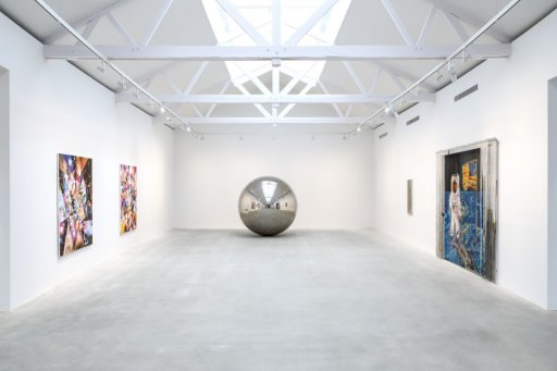 Exposition Space Age - galerie Thaddaeus Ropac 2015