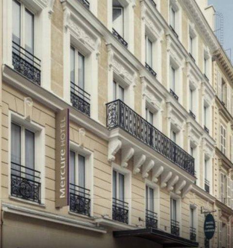 Façade hôtel Mercure Paris Opéra 8e