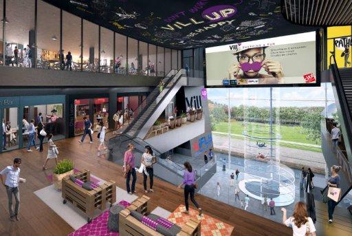 Vill'up Paris - intérieur virtuel du centre commercial