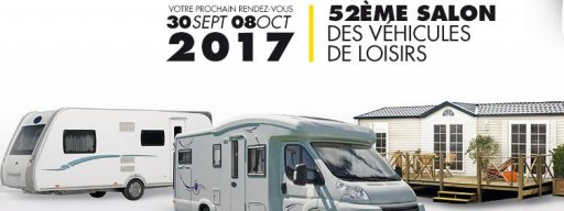 Salon v hicules de loisirs au bourget parc des expositions - Salon paris septembre 2017 ...