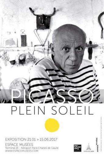 Exposition Picasso Plein Soleil - Aéroport CDG 2017