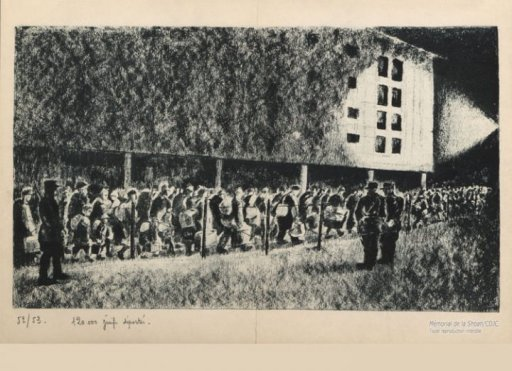 Camp de Drancy Georges Horan-Koiransky - expo Mémorial de la Shoah