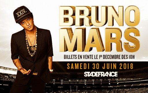 Bruno Mars Stade de France