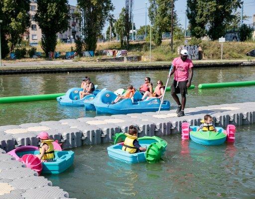 Été 2020 sur le canal de l'Ourcq et Saint-Denis