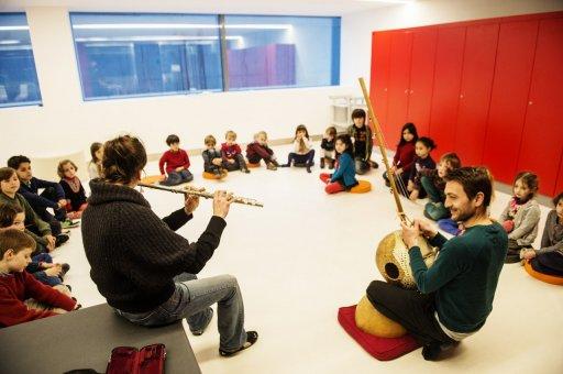 Théâtre, concert en famille, salles avec garderie atelier pour enfants