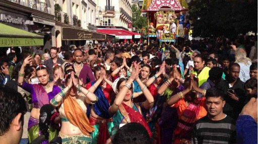 Fête de Krishna, Ratha Yatra Paris