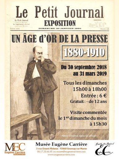 Un Âge d'Or de la Presse 1880-1910 au Musée Eugène Carrière