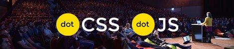 dotCSS et dotJS conference dock de Paris