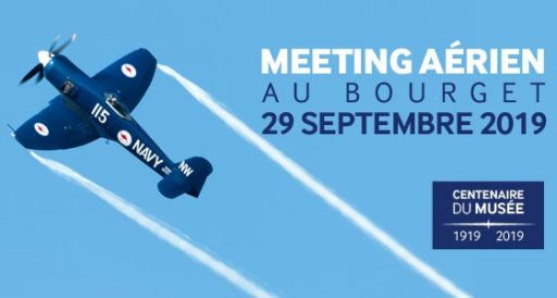 Meeting aérien au Bourget - septembre 2019