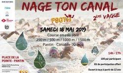 Nage ton Canal ! course en eau libre dans l'Ourcq