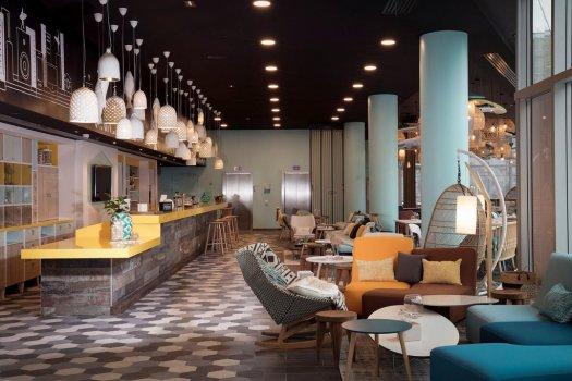 Lobby bar Hotel Hampton by Hilton Paris Clichy