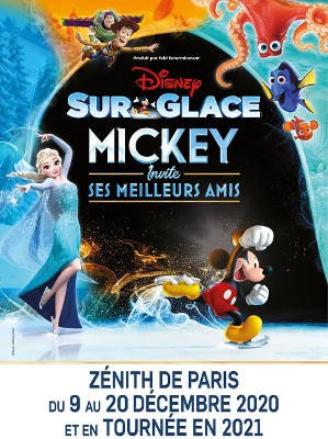 spectacle de noël - disney on ice - Mickey invite ses meilleurs amis