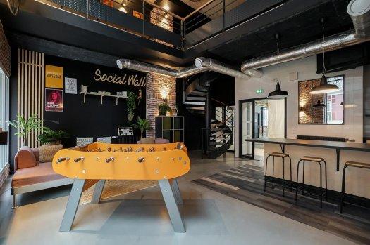 factory student Paris Bagnolet - salle commune