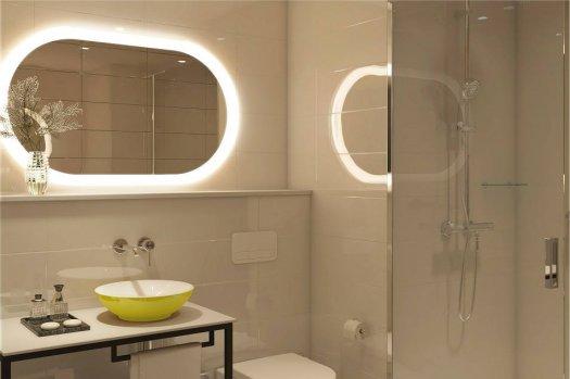 Hyatt Place CDG aéroport - salle de bain