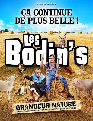 Les Bodin's - Grandeur Nature - spectacle humour