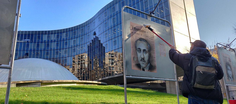 C215, portraits de résistants communistes