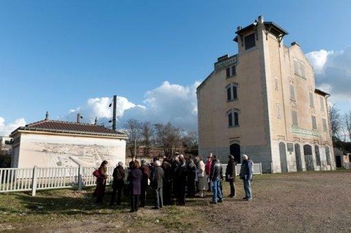 Visite de la gare de déportation de Bobigny