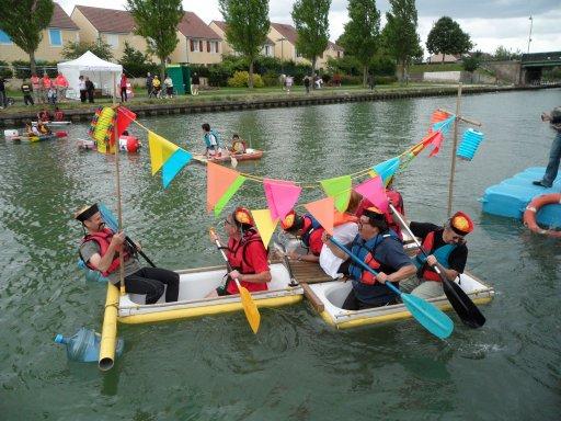 La course de baignoires sur l'Ourcq revient !