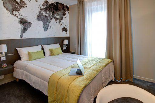 Park & Suites le Bourget chambre 1