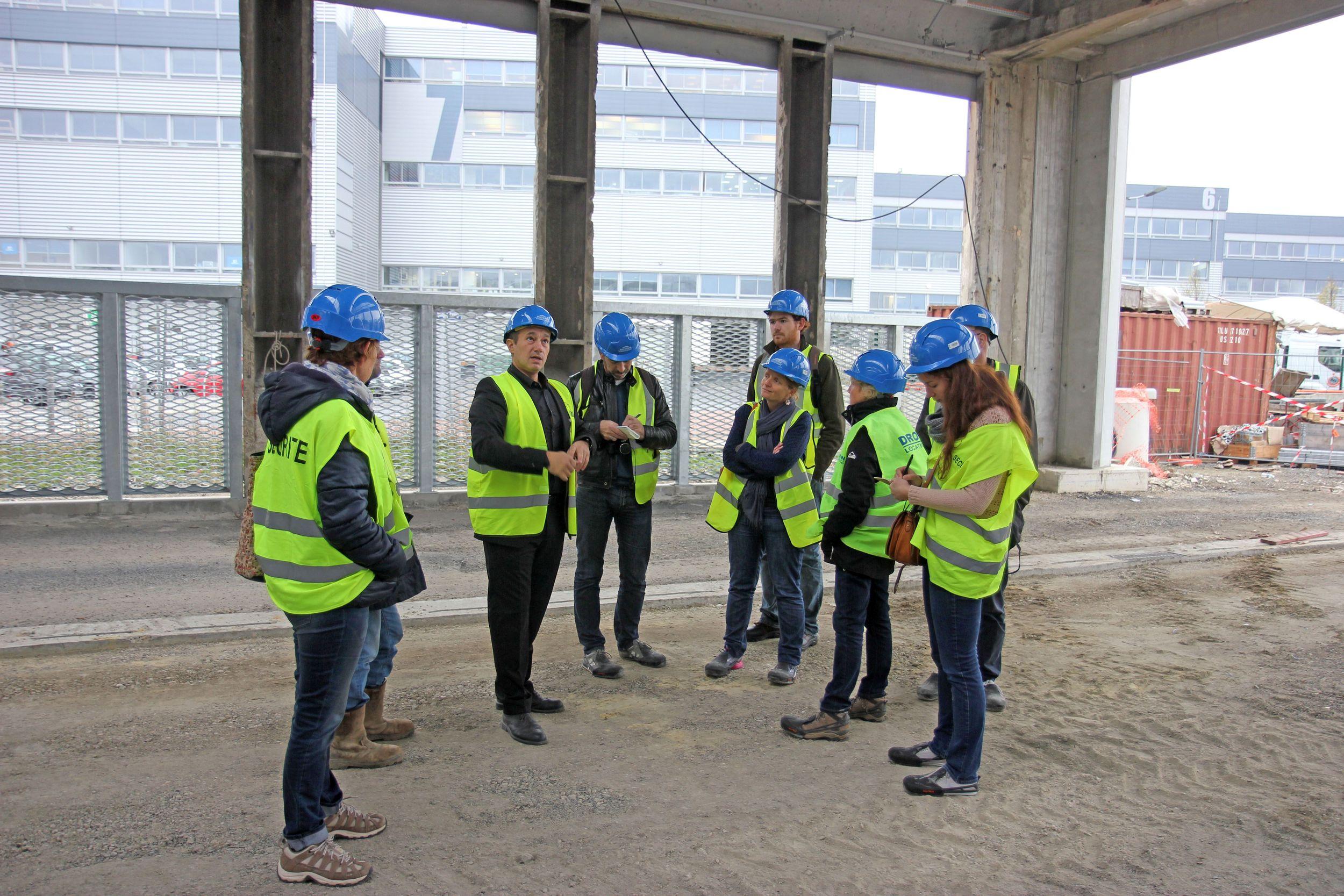 Visites de chantier en seine saint denis en 2014 for Visite de chantier