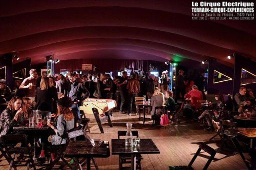 Le cirque lectrique cabaret punk paris porte des lilas - Piscine des tourelles porte des lilas ...